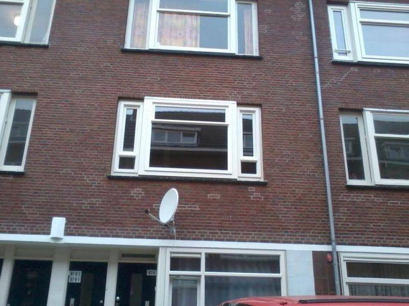 Rotterdam Zuid  Kunststof RAL 9001 erker